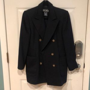ESCADA DOUBLE BREASTED COAT